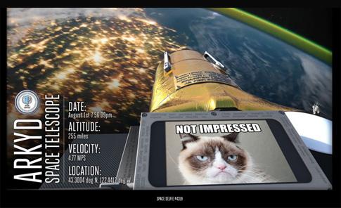 Imagen cortesía de Planetary Resources Inc.