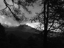 Esto fue todo lo que pudimos ver del Pico de Orizaba